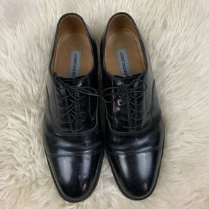 Johnston & Murphy Men's Oxford Cap Toe Shoe Sz 9.5